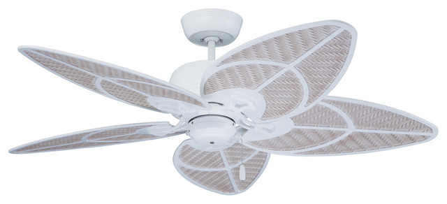 Batalie Breeze Outdoor Fans, Satin White.