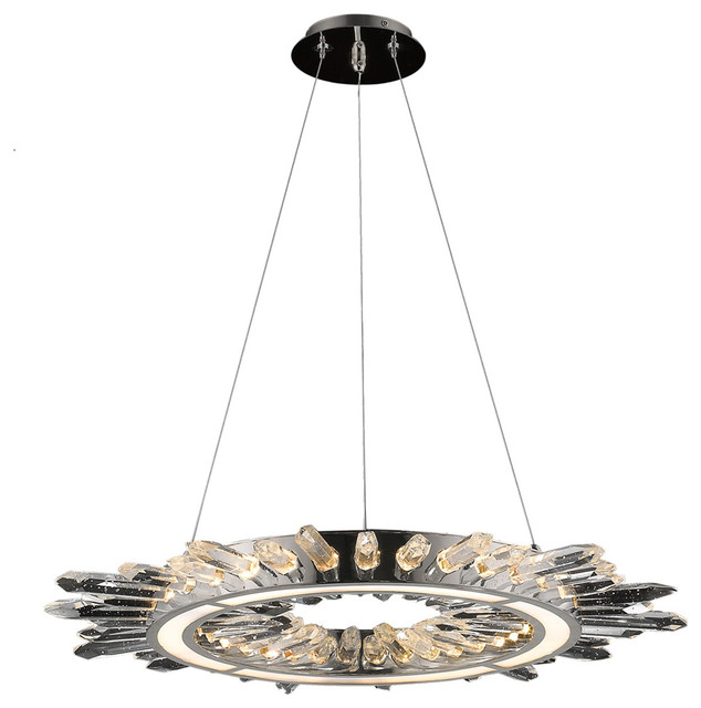 Avenue Lighting Aspen Collection Led Hanging Chandelier