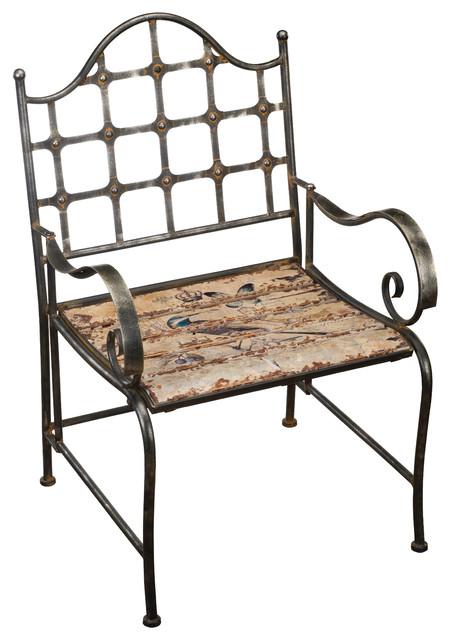 Rustic Bird Chair
