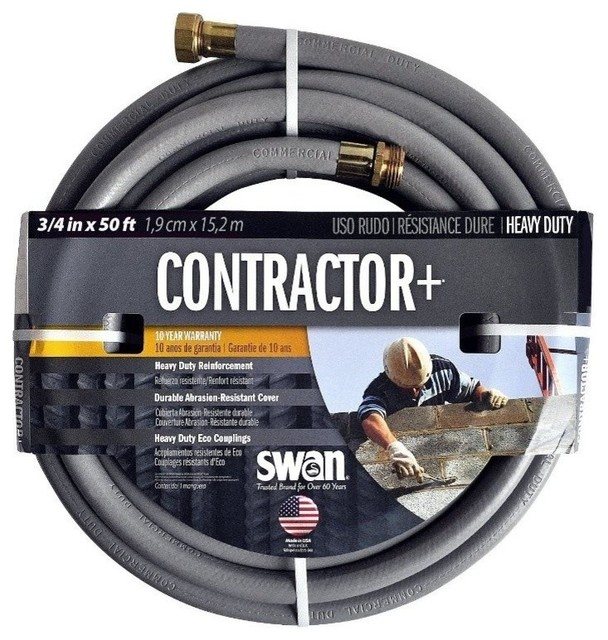 Swan Contractor by Grey Water Hose Traditional Garden Hoses