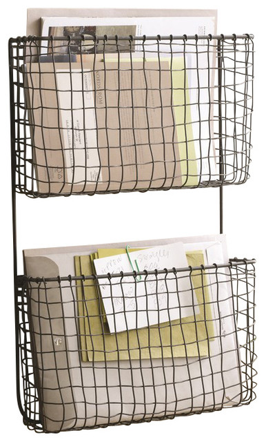 Cabo Wall Pockets - Contemporary - Home Decor - by Hudson & Vine