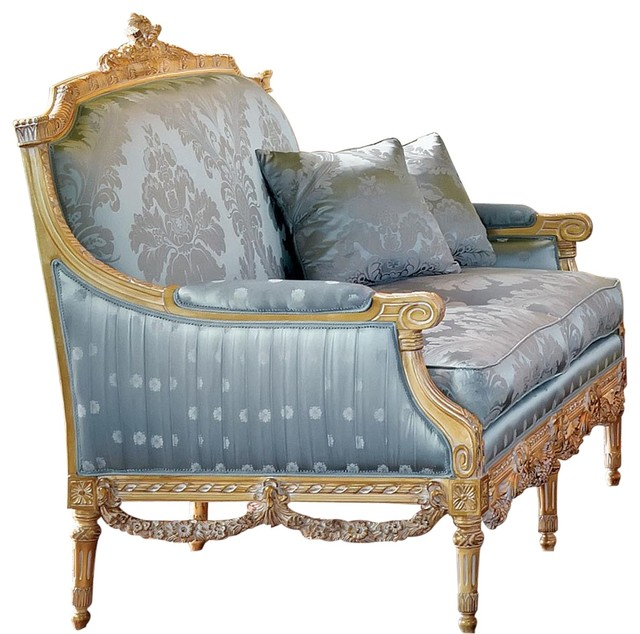 David Michael Upholstered Love Seat.