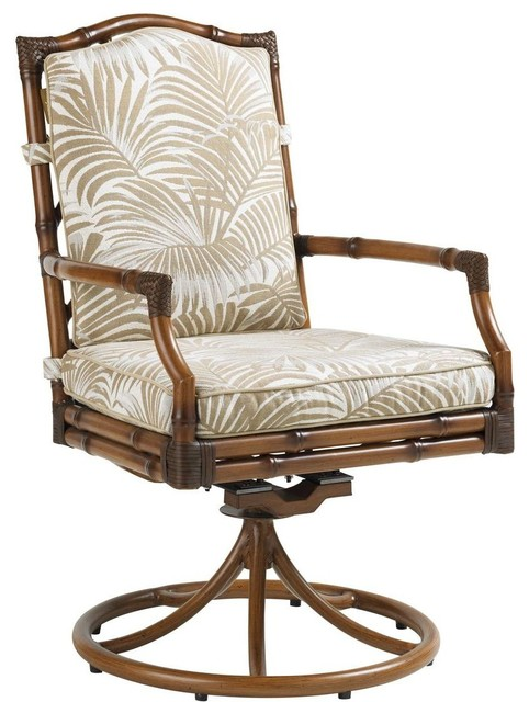 Lexington Home Brands Tommy Bahama Island Estate Veranda Swivel Rocker Dining