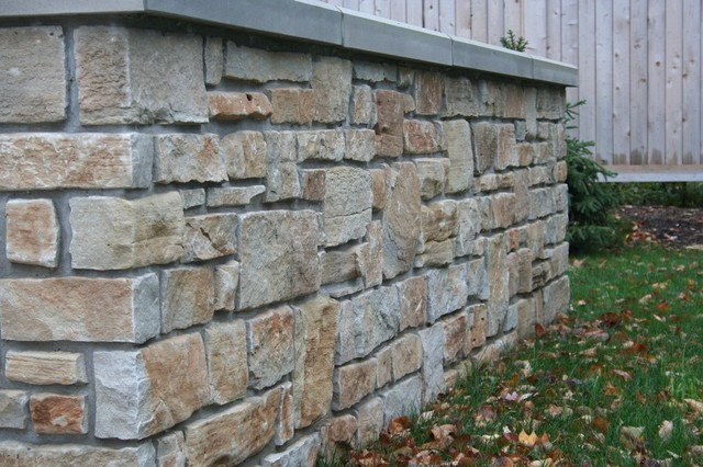 Landscape Retaining Wall Residential Landscape Cost Of Natural Stone
