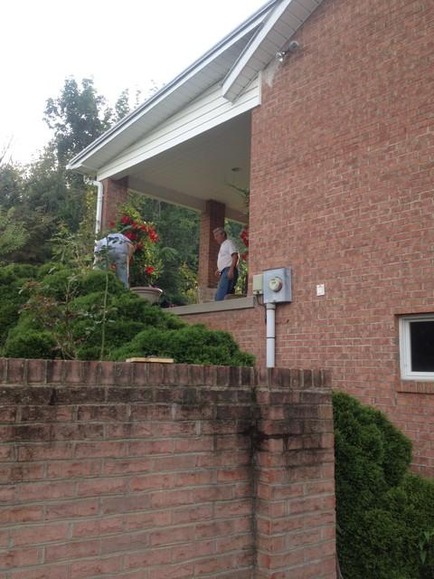 Hand rail with railing altro di schultz ornamental iron for Schultz home designs
