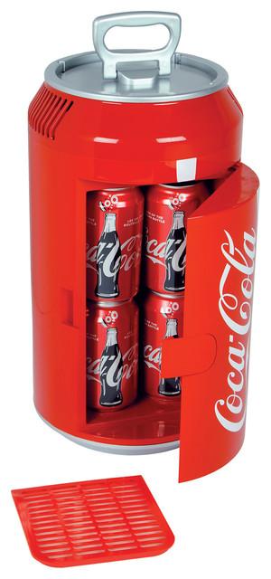 Koolatron Mini Coca-Cola Can Cooler.