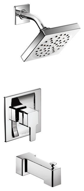 Moen 90 Degree Chrome Posi-Temp(R Tub/Shower TS2713
