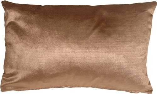 Pillow Decor - Milano 12 X 20 Light Brown Decorative Pillow.