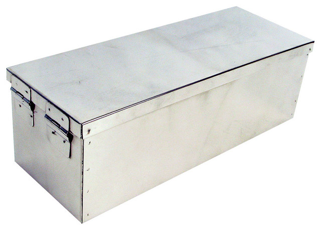 """12"""" Metal Storage Lock Box by Stalwart - Traditional - Safes - by Trademark Global"""