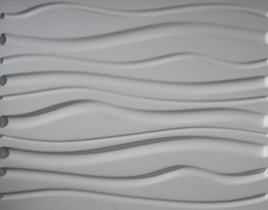 32 Sq. Ft. Plant Fiber Wainscot Wave Wall Panel, 6 Panels.