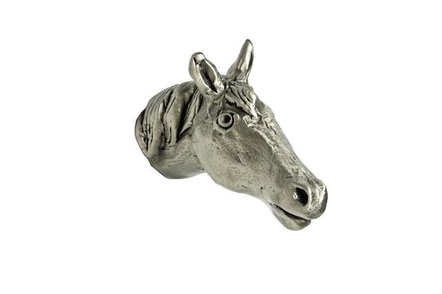 Rosalie Sherman Designs - Small Horse Head Knob & Reviews ...