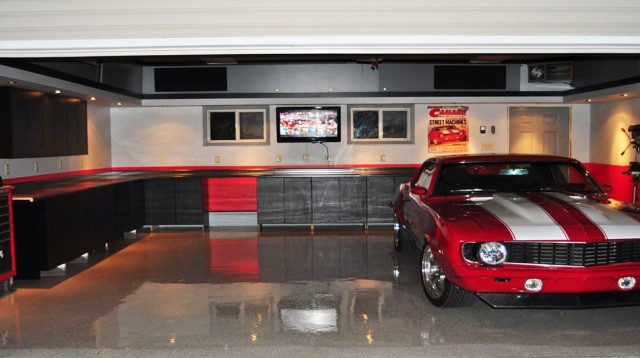 Custom garage workshop designs for Garage low cost auto