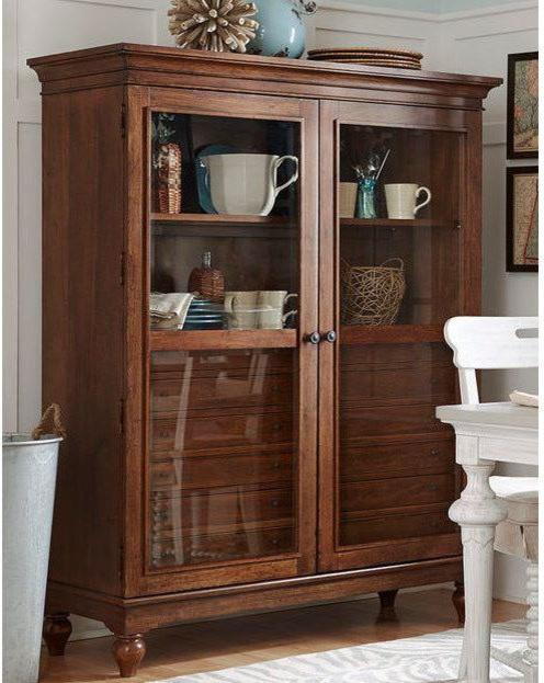 Paula Deen Furniture The Bag Lady Cabinet Blossom Cobblestone