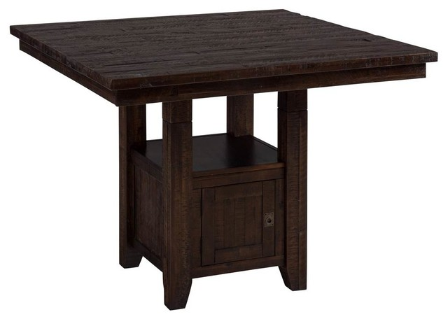 Pub Table With Storage Base Contemporary Dining Tables  : contemporary dining tables from www.houzz.com size 640 x 456 jpeg 34kB