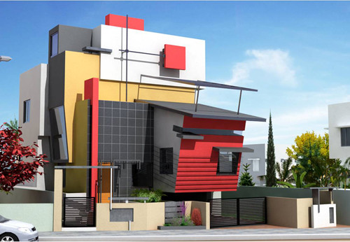 modern residential house plans contemporary home designs - Residential Home Design