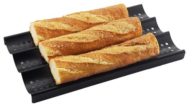 Shop Houzz Zen Urban 3 Loaf Nonstick Perforated Baguette