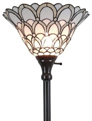 Tiffany Style Floor Lamp 72.