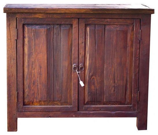 "Maron Reclaimed Wood Vanity, 36""x20""x32"", Single Sink"
