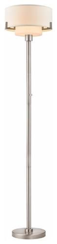 Sonneman 7088.13 Perch Pharmacy Swing Arm Floor Lamp - Satin Nickel