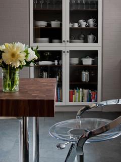 Butcher block countertops for Piani artistici per artigiani con suite di artisti