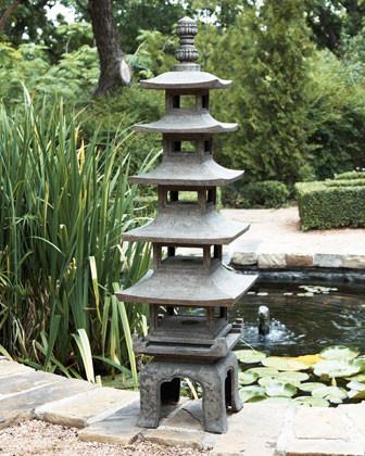 Pagoda Outdoor Sculpture