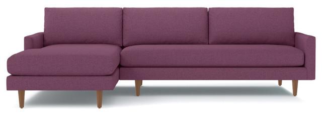 Amazing Scott 2 Piece Sectional Sofa Amethyst Chaise On Left Machost Co Dining Chair Design Ideas Machostcouk