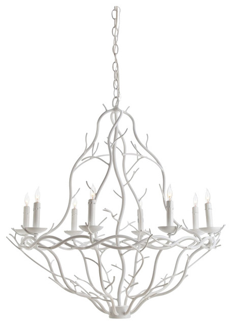 Arteriors durango chandelier scandinavian chandeliers by arteriors durango chandelier white small aloadofball Choice Image