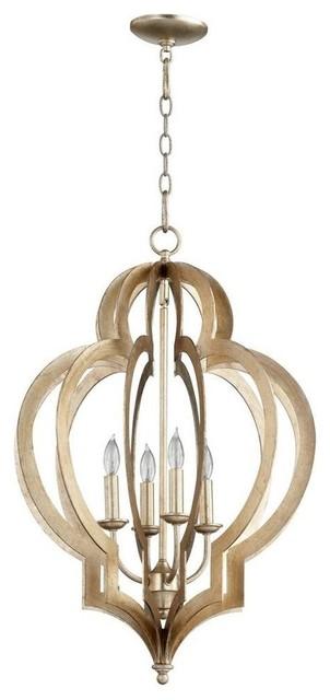 Cyan Design Small Vertigo Chandelier, Gold Leaf - Mediterranean ...
