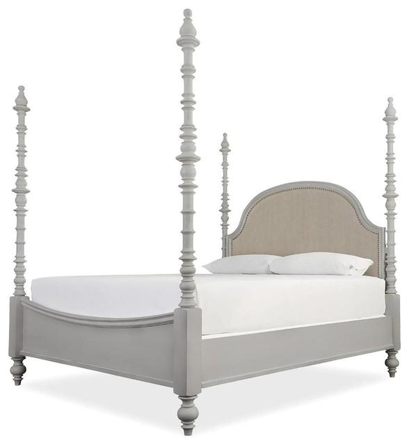 Paula Deen Home Dogwood Bed, Cobblestone, King.