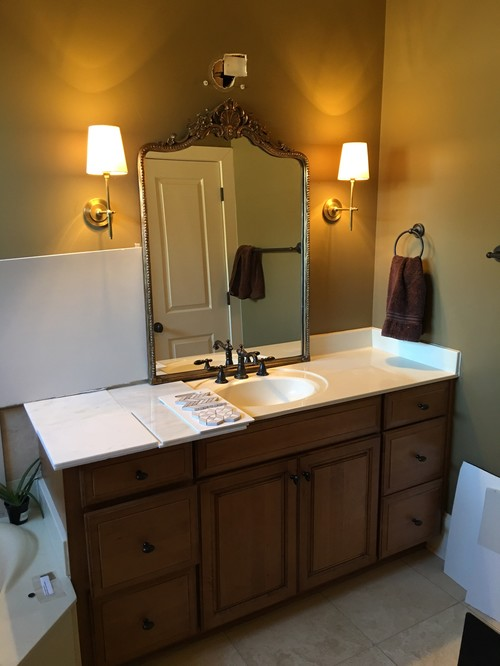 Recessed Lighting Placement Over Vanity