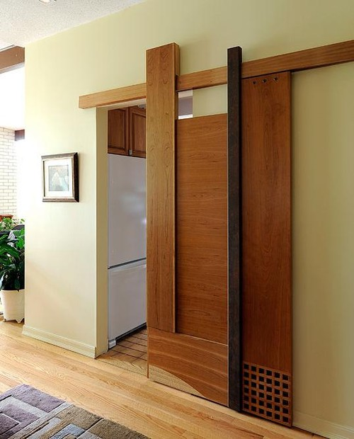 Does This Sort Of Door Sound Proof Between The Rooms?