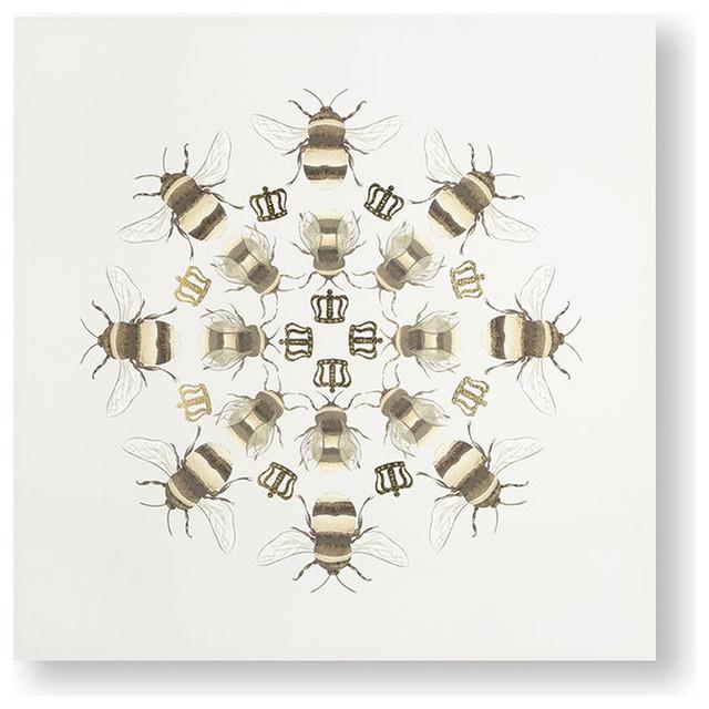 """Beautiful Bees"" Printed Canvas"
