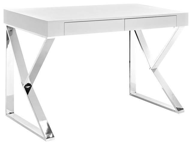Adjacent Desk, White.