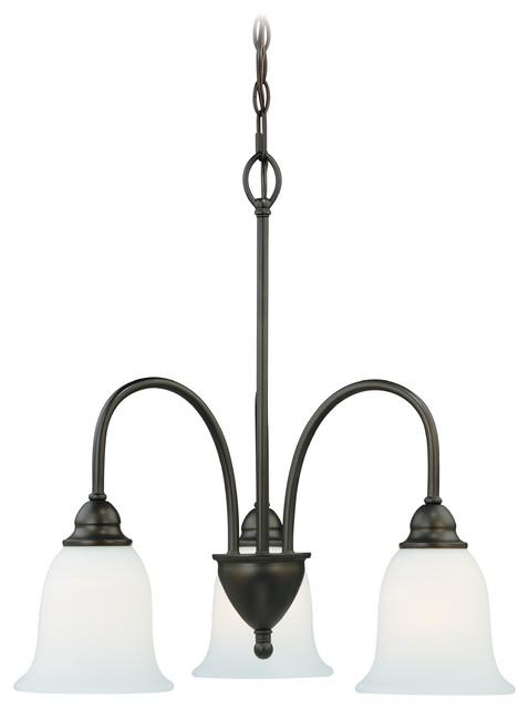 Concord 3-Light Kitchen Light, Oil Rubbed Bronze