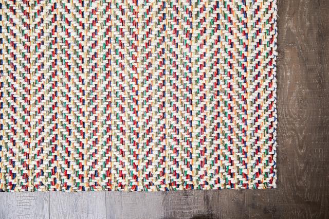 Anji Mountain 8'x10' Ruby P Rectangular Rug