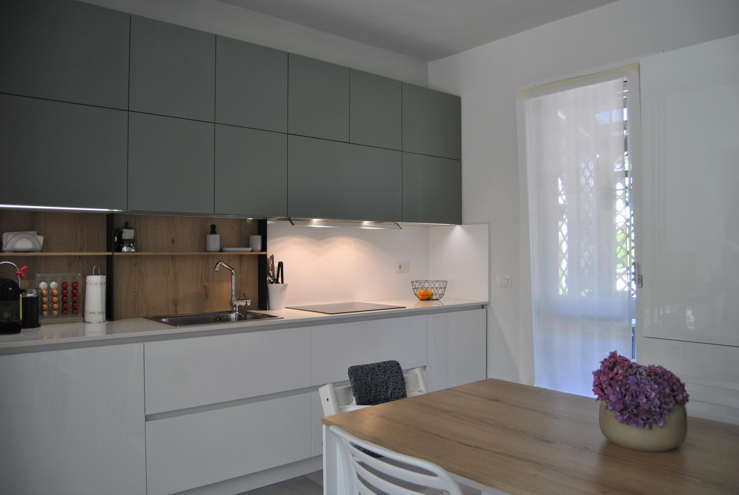 Vista della cucina.