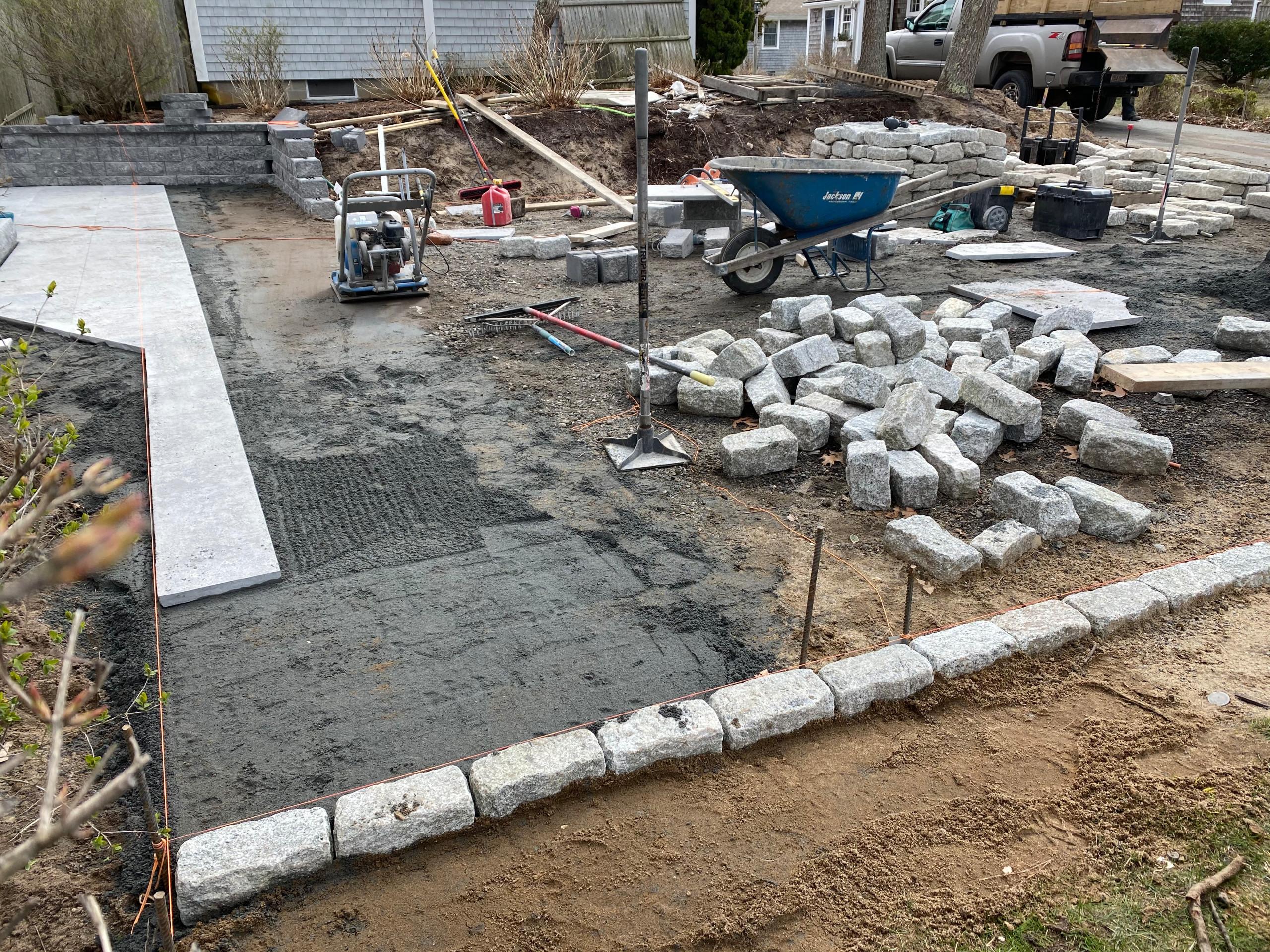 Harwichport Stone Patio Design