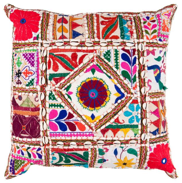 Karma Pillow 18x18x4, Polyester Fill.