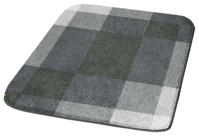 Non Slip Washable Bathroom Rug Loop Contemporary Bath