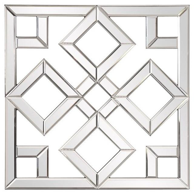 Howard Elliott Moira Mirrored Lattice Mirror.