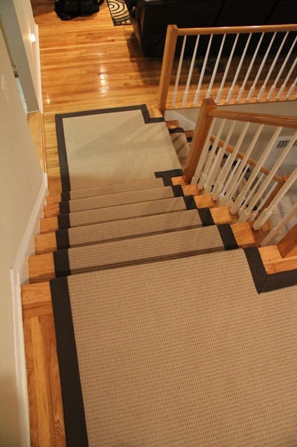 Wide binding sisal runners traditional new york by