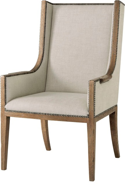 Superb Theodore Alexander Echoes Aston Armchair Cb41016 1Awi Short Links Chair Design For Home Short Linksinfo