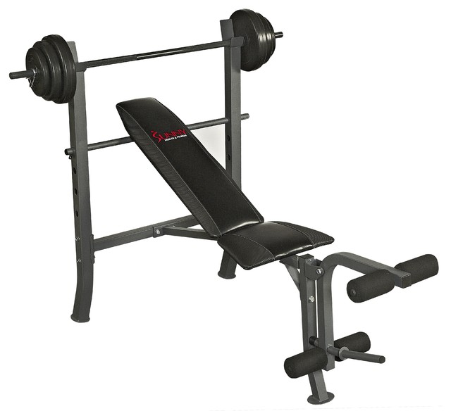 weight bench set with weights