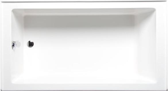 Turo 7234 Left Hand, Tub Only, White.