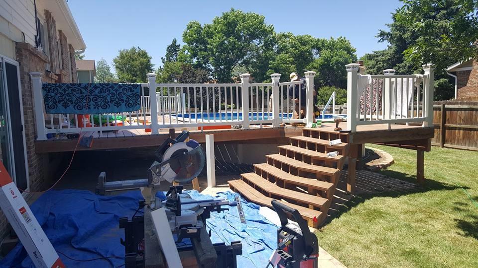 Custom Pool Construction Project