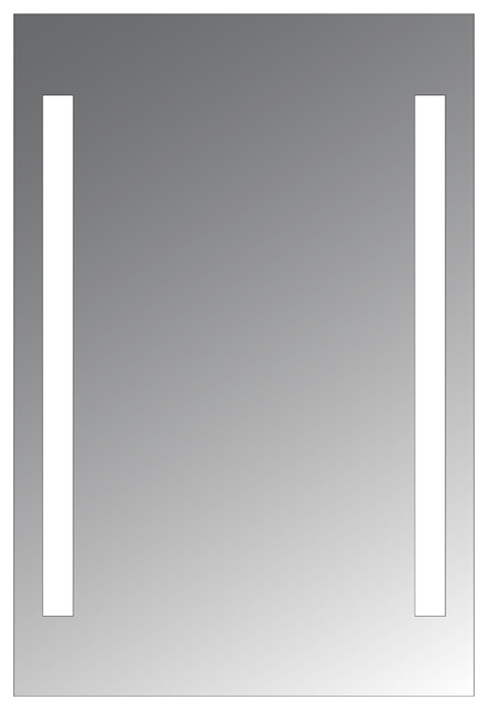 "Bathroom Mirrors Usa civis led 24""x36"" alexander lighted mirror - contemporary"