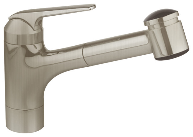 KWC Single-Lever Pull Out Kitchen Faucet, Splendure Stainless Steel,  7.4\