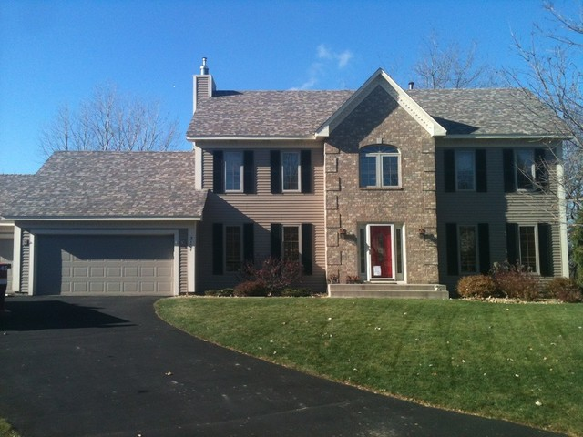 Owens Corning Tru Def Roof in Sand Dune Traditional