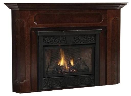 400 Size Barrington Wood Cabinet, Dark Walnut.