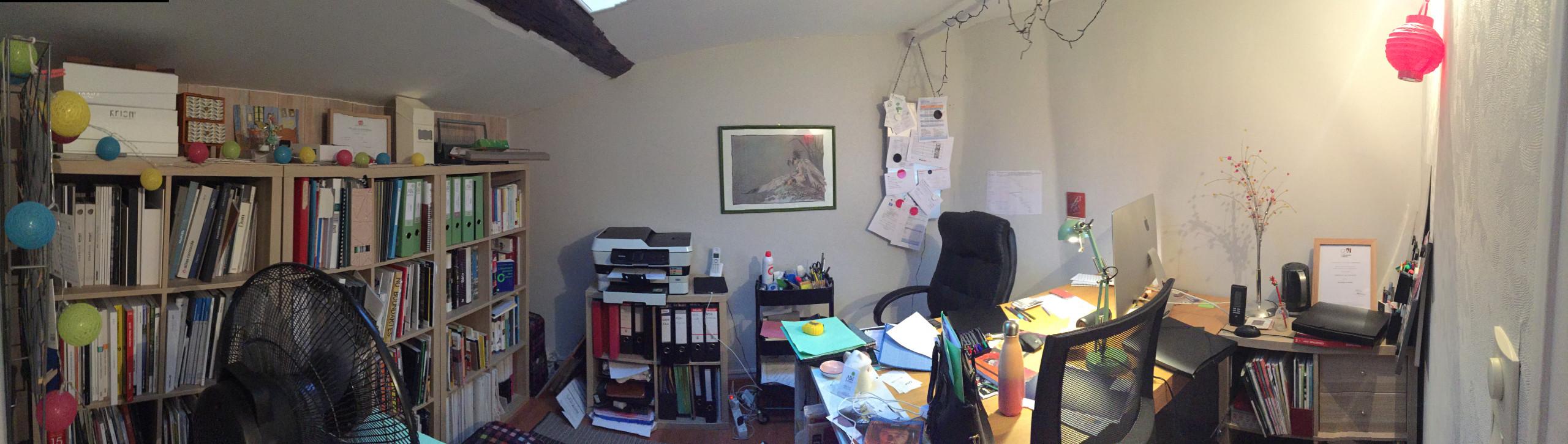 création d'un bureau + chambre de bébé